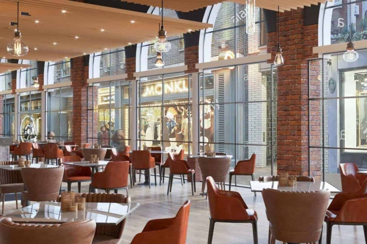 3d rendering Restaurant Dubai
