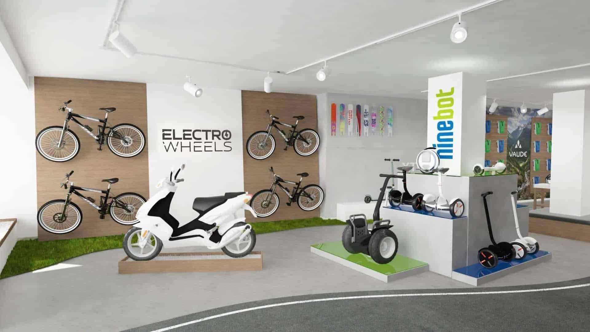 electric bike segway