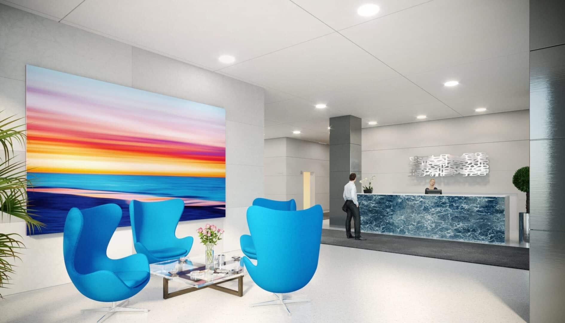 New-York-lobby-3d-Rendering