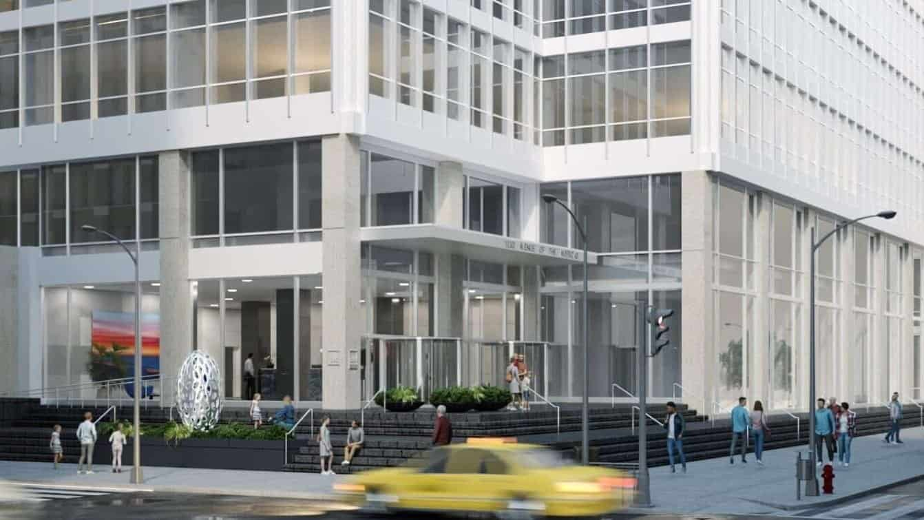 Office-building-New-York-3d-Rendering