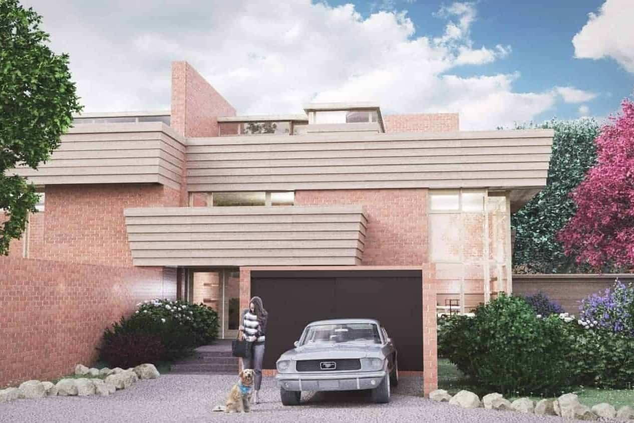 Frank Lloyd Wright Suntop Homes